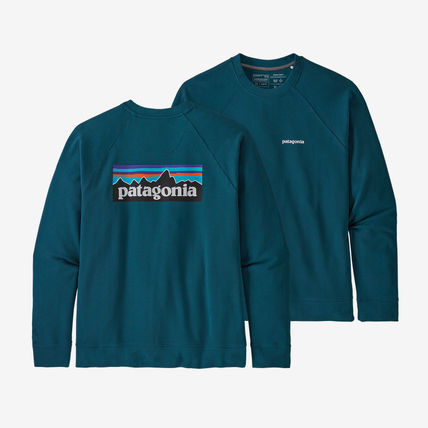 Patagonia Sweatshirts Long Sleeves Plain Logo Outdoor Sweatshirts 2
