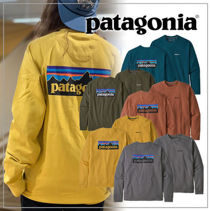 Long Sleeves Plain Logo Outdoor Sweatshirts