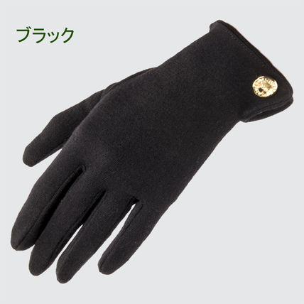 Cornelia James Wool Plain Gloves Gloves