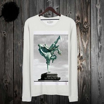 Pullovers Street Style Long Sleeves Cotton