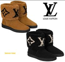 Louis Vuitton MONOGRAM Snowdrop Flat Ankle Boot
