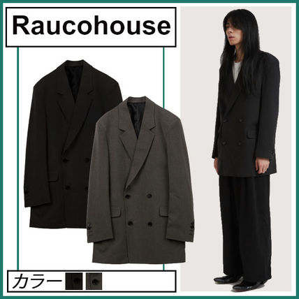 Raucohouse Street Style Logo Jackets