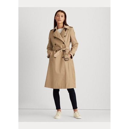 Ralph Lauren Plain Medium Trench Coats