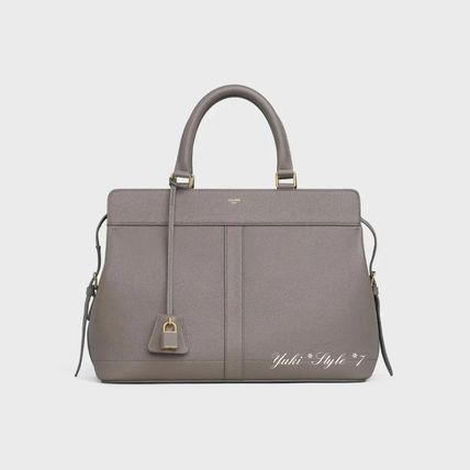 CELINE Cabas Medium Cabas De France Bag In Grained Calfskin