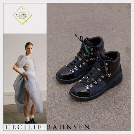 CECILIE BAHNSEN More Boots Casual Style Blended Fabrics Collaboration Boots Boots