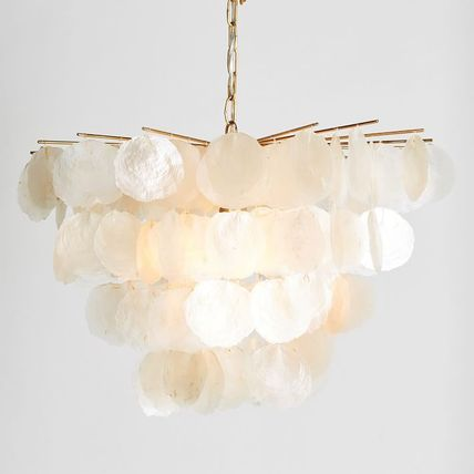 Pottery Barn Gold Furniture Clear Furniture Lighting