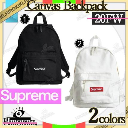 Supreme 20FW/Supreme Canvas Backpack (20AW) Box Logo Day Pack