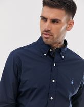 POLO RALPH LAUREN Shirts Button-down Unisex Street Style Long Sleeves Plain Cotton 5