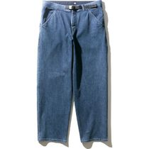 THE NORTH FACE More Jeans Denim Plain Cotton Jeans 6