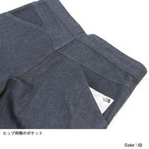 THE NORTH FACE More Jeans Denim Plain Cotton Jeans 9
