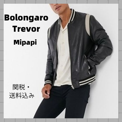 Short Leather Varsity Jackets