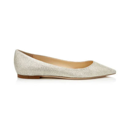 Jimmy Choo Casual Style Plain Leather Party Style Office Style