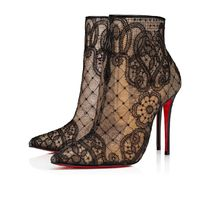Christian Louboutin Flower Patterns Casual Style Street Style Pin Heels