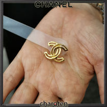 CHANEL ICON Costume Jewelry Casual Style Party Style Office Style