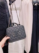 CHANEL Street Style Plain Shoulder Bags
