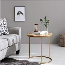 MARKET B Wooden Furniture Gold Furniture Consoles Night Stands