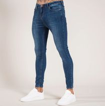 Bee Inspired Clothing Denim Plain Cotton Skinny Jeans
