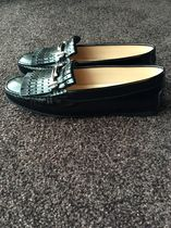 TOD'S Plain Leather Loafer & Moccasin Shoes