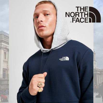 THE NORTH FACE Hoodies Street Style Long Sleeves Cotton Logo Outdoor Hoodies
