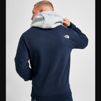 THE NORTH FACE Hoodies Street Style Long Sleeves Cotton Logo Outdoor Hoodies 3