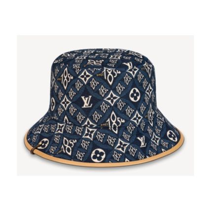 Louis Vuitton 2020-21 AW SINCE 1854 HAT bordeaux gris wide-brimmed hats