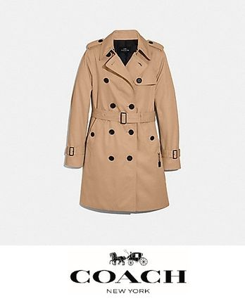 Coach Street Style Trench Coats