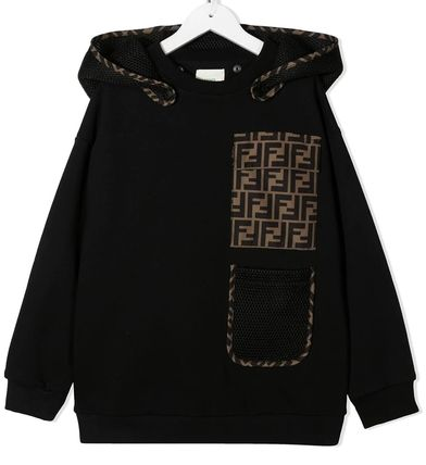 FENDI Street Style Kids Boy Tops
