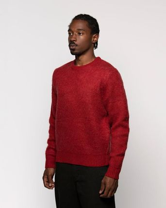 STUSSY Sweaters Unisex Street Style Long Sleeves Skater Style Sweaters 3