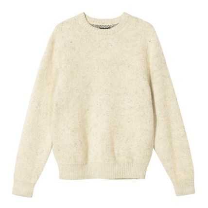 STUSSY Sweaters Unisex Street Style Long Sleeves Skater Style Sweaters 7