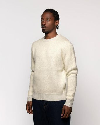 STUSSY Sweaters Unisex Street Style Long Sleeves Skater Style Sweaters 9