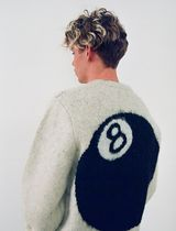 STUSSY Sweaters Unisex Street Style Long Sleeves Skater Style Sweaters 8