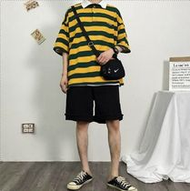 More T-Shirts Stripes Street Style Short Sleeves T-Shirts 8