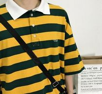 More T-Shirts Stripes Street Style Short Sleeves T-Shirts 9