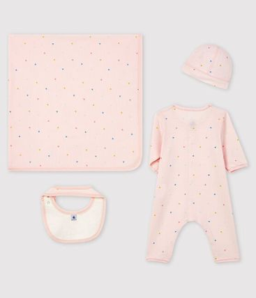 Organic Cotton Co-ord Baby Girl Dresses & Rompers
