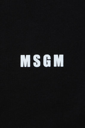 MSGM Sweatshirts Crew Neck Pullovers Unisex Sweat Street Style Long Sleeves 4