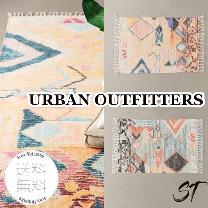 Morroccan Style Outdoor Mats & Rugs Unisex Street Style