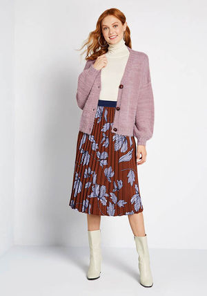 Casual Style Long Sleeves Medium Office Style Cardigans