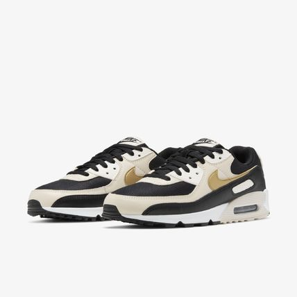 Nike AIR MAX 90 Unisex Street Style Collaboration Low-Top Sneakers