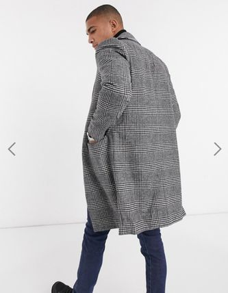Glen Patterns Other Plaid Patterns Long Chester Coats