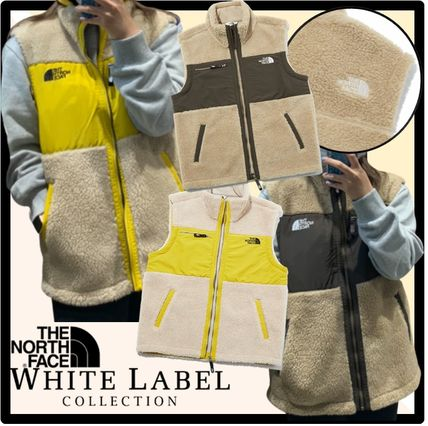 THE NORTH FACE Casual Style Unisex Street Style Vests
