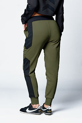 ELLY PISTOL Casual Style Cotton Street Style Bottoms