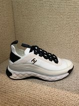 CHANEL SPORTS Unisex Plain Logo Sneakers