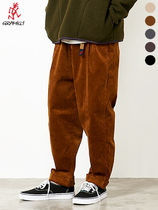 Gramicci Tapered Pants Unisex Corduroy Tapered Pants