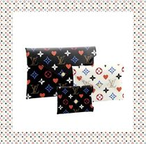 Louis Vuitton NEVERFULL Heart Monogram Casual Style Unisex Bag in Bag 3WAY