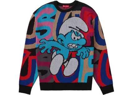Supreme Sweaters Street Style Sweaters 2