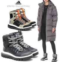 adidas by Stella McCartney Leopard Patterns Mountain Boots Casual Style Street Style