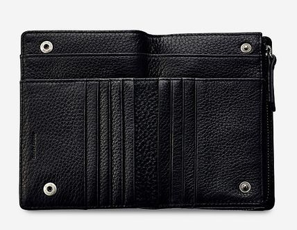 Folding Wallet Plain Leather Folding Wallets