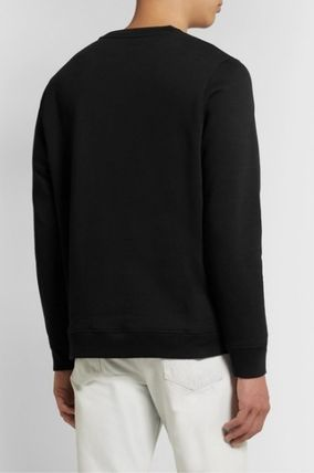 LOEWE Sweatshirts Crew Neck Long Sleeves Cotton Logo Luxury Sweatshirts 3