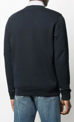 LOEWE Sweatshirts Crew Neck Long Sleeves Cotton Logo Luxury Sweatshirts 6
