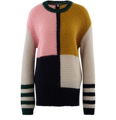 Crew Neck Other Plaid Patterns Casual Style Long Sleeves
